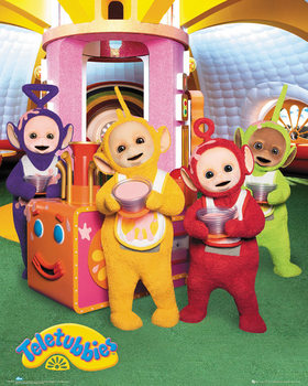 Teletubbies - Custard Poster