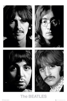 The Beatles - White album poster, Immagini, Foto