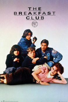 Póster  The Breakfast Club - Key Art