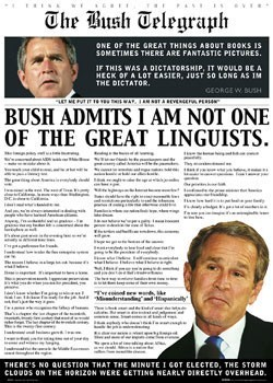 Póster The bush telegraph