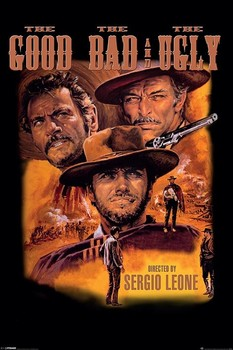 Poster THE GOOD AND THE BAD AND THE UGLY