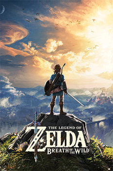 Póster  The Legend Of Zelda: Breath Of The Wild - Sunset