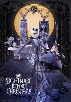 Póster 3D THE NIGHTMARE BEFORE CHRISTMAS