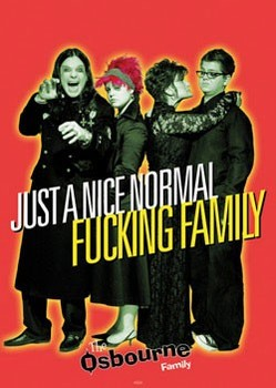 Poster  the Osbournes - normal family