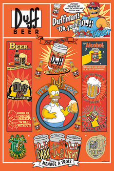 Poster  The Simpsons - Duff
