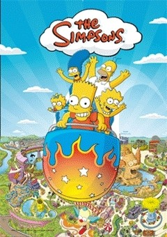 THE SIMPSONS - krustyland Poster 3D