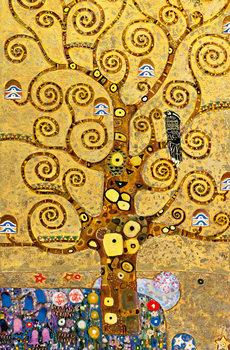 The tree of life Poster / Kunst Poster