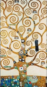 The Tree Of Life - Stoclit Frieze, 1915 Kunstdruk
