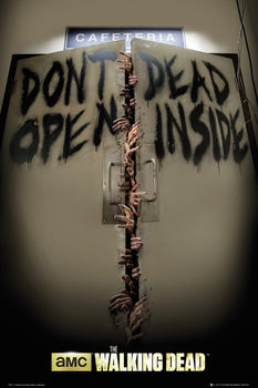Póster THE WALKING DEAD - Keep Out