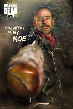 Póster  The Walking Dead - Negan