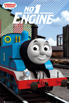 Thomas de stoomlocomotief - No.1 Engine Poster