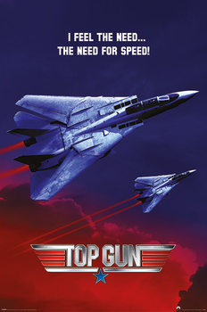Póster Top Gun - The Need For Speed