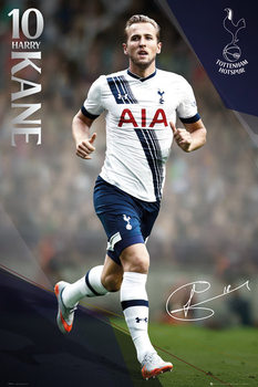 Póster Tottenham Hotspur FC - Kane 15/16