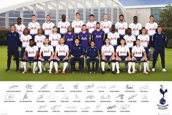 Póster Tottenham Hotspurs - Team Poster 18-19