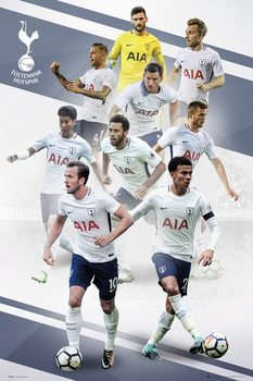 Póster  Tottenham - Players 17/18