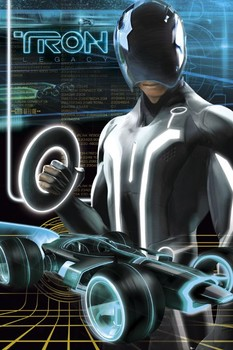TRON - legacy Poster / Kunst Poster