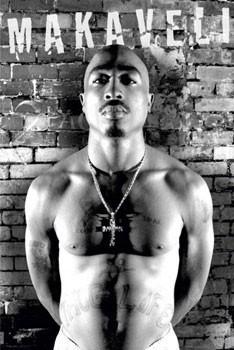 Póster Tupac - makaveli