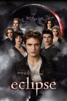 Póster TWILIGHT ECLIPSE - cullens