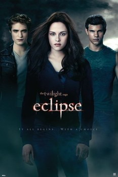 Póster TWILIGHT ECLIPSE - one sheet