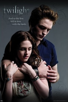 Póster TWILIGHT - ed and bella embrance