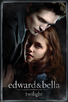 Póster TWILIGHT - edward and bella