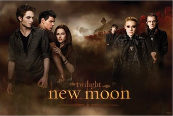 Póster TWILLIGHT NEW MOON - threesome