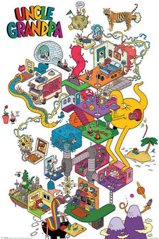 Poster Uncle Grandpa - A Warped Mind