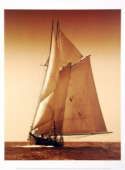 Under Sail I Kunstdruk