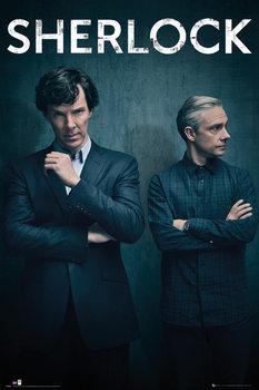 Póster Uusi Sherlock - Series 4 Iconic