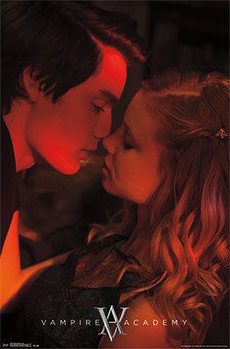 Poster VAMPIRE ACADEMY - kuss