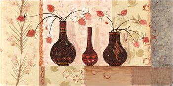Vase 3 Kunstdruk