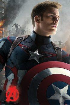 Póster Vengadores 2: La Era de Ultrón - Captain America