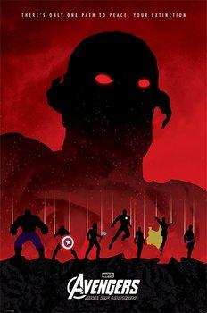 Póster Vengadores 2: La Era de Ultrón - Extinction