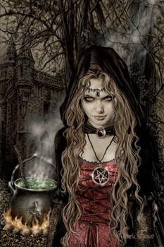 Poster Victoria Frances - cauldron