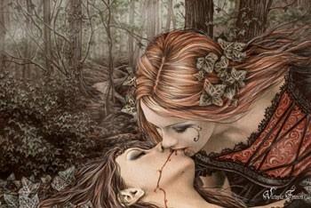 Poster Victoria Frances - kiss