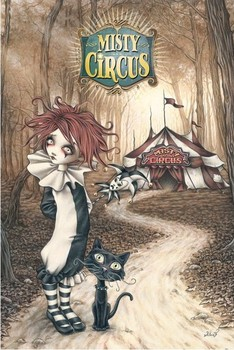 Poster Victoria Frances - misty circus