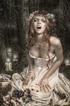 Poster Victoria Frances - vampire girl