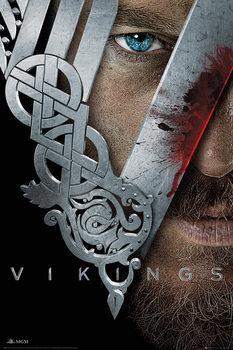 Póster Vikingos - Key Art