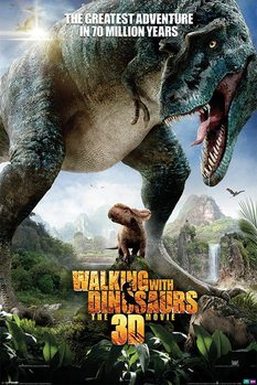 Póster  WALKING WITH DINOSAURS - one sheet