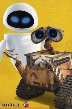 Póster WALL-E - y eve