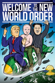 Póster  Welcome To The New World Order