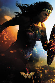 Póster Wonder Woman - Run