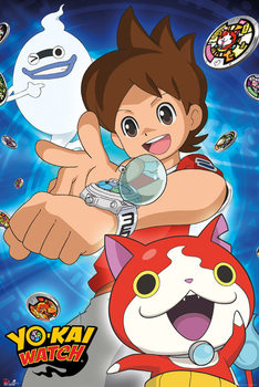Póster Yo-Kai Watch - Trio