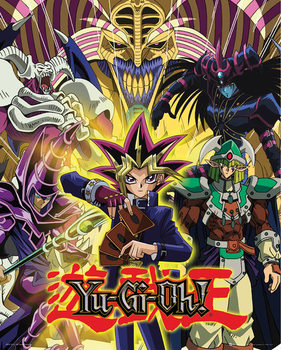 Póster Yu Gi Oh! - Yugi and Monsters