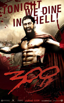 300 - tonight we dine in hell Poster