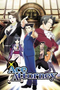 Ace Attorney - Key Art Poster