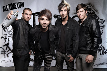 All time low - Spray Poster