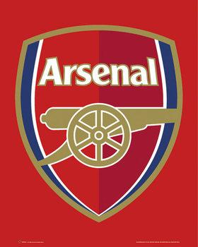 Arsenal FC - Club crest Poster