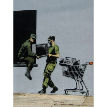 Banksy - Looters Masters Reproducere