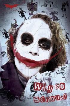 BATMAN - smile Poster